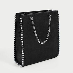 Zara Studded Purse | Bag | Tote
